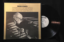 Henry Cowell-Complete Works For Violin & Piano-Folkways 37450-GREAT