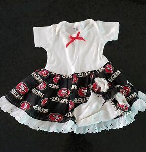 San Francisco 49er Infants dress 3 to 6 Months