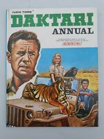 Vintage children's book. BBC TV Daktari Annual 1968 hardback annual 60s 70s tv