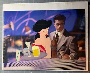 Brad Pitt Cool World Limited Edition Animation Production Cel Ralph Bakshi