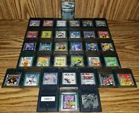 (35) Lot Nintendo Gameboy Color GBC *Tested*