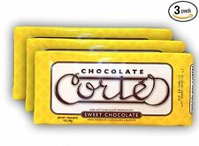 CORTES SWEET CHOCOLATE FOR HOT CHOCOLATE 3 BARS OF 7 OZ