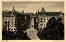 Frankfurt am Main Hessen AK ~1920 Blick in die Kaiserstraße Bahnhof Straßenbahn