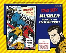 Palau - Star Trek - Murder Boards The Enterprise! Souvenir Sheet,