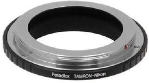 Fotodiox-Lens Mount Adapter for Tamron Adaptall-2 Lenses to Nikon F-Mount Camera