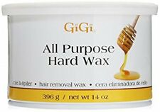 GIGI all purpose hard wax for hair removal 14 oz can for spa,threading salons.