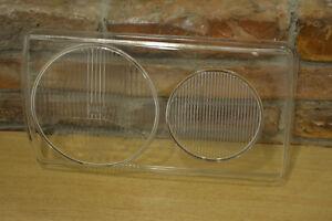 ORIGINAL MERCEDES  W123 RIGHT PASSINGER SIDE  HELLA GLASS LENS HEADLIGHT  .