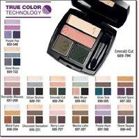 Avon True Colour Eyeshadow Quad Various Colours BNIB