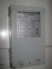 ACME ELECTRIC CORP. CATALOG # T-1-53010. 1.0 KVA SINGLE PHASE POWER TRANSFORMER