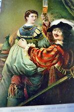 Gemälde-Ansichtskarten vor 1914