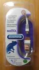 BANDRIDGE  Mini DisplayPort Adaptor Cable 3m Mini DisplayPort - DisplayPort