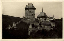 Castle Czech Republic Česká ~ 1920/30 Castle Castle Castle Vintage Postcard Unused