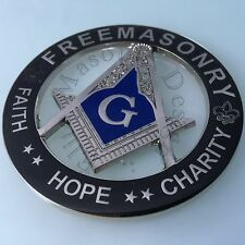 New Masonic Master Mason Cut out Car  Emblem