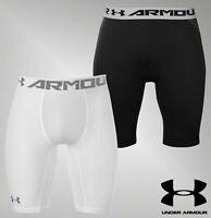 Mens Genuine Under Armour Football Rugby Heatgear Core Baselayer Shorts S-XXL