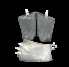 More details for stand up 500ml pouch drinks bag smuggle booze cruise festival camping genuine uk