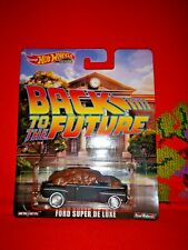 # 1/64 HOT WHEELS PREMIUM - BACK TO THE FUTURE FORD SUPER DE LUXE - MISB