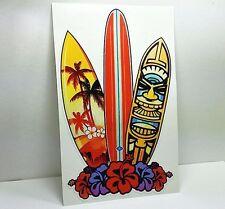 SURF BOARD Vinyl DECAL / STICKER, 6 Inches