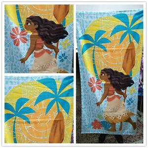 Disney Princess Moana Cotton Beach Bath Towel 75cm*150cm