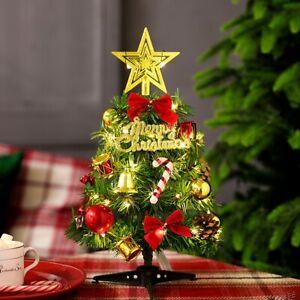 Desktop Mini Artificial Xmas 30cm Decoration Pine Tree Christmas Tree Ornament