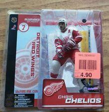 2003 MCFARLANE SPORTS PICKS NHL SERIES 7  CHRIS CHELIOS  #24 DETROIT RED WINGS