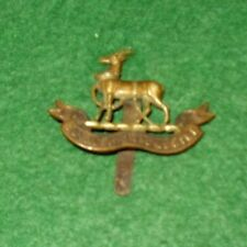 ROYAL WARWICKSHIRE REGIMENT BI-METAL CAP BADGE