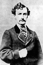 New 5x7 Photo: John Wilkes Booth, Assassin of President Abraham Lincoln