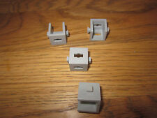 Fischertechnik 4 x Statik - Würfel zwei Noppen Träger grau Sammlung Konstruktion