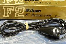 Vintage new in box Nikon SC MC1 3m Remote EXTENSION CORD F/F2 w/ MD2/MD1 MB1/MB2