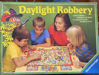 DAYLIGHT ROBBERY Vintage 1983 RAVENSBURGER Board Game complete, rare.