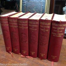 Obras completas de Benito Perez Galdos Aguilar Ed de 1958-1961