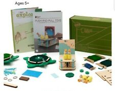 KiwiCo Explore Push and Pull Physics, Educational Kit, New Open Box, Free Ship.
