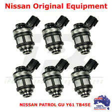 6 x FUEL INJECTORS for NISSAN PATROL GU Y61 TB45E 4.5L 97-00 INJECTOR 4WD TB45