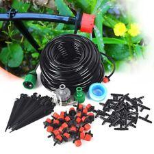 DIY 25M Automatisch Bewässerungssystem Micro Drip Bewässerung Gartenpflanze DHL
