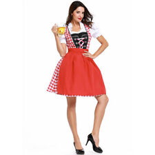 Halloween Oktoberfest Costume Women Beer House Maid Wench German Fancy Dresses