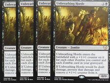 XXX 4x unbreathing horda inglés Blessed vs. Cursed (Zombie Black) nearmint XXX