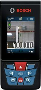 Bosch Outdoor Laser Measure 400 Ft GLM400C Bluetooth Camera Digital Viewfinder