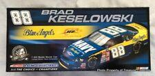 2008 Brad Keselowski 88 Navy Blue Angels Monte Carlo 1/800 NASCAR 1:24 Autograph