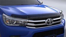 GENUINE TOYOTA HILUX JUL 2015> TINTED ACRYLIC BONNET PROTECTOR STONE GUARD KIT