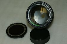 ***MINT CONDITION*** OBJECTIF/LENS SMC AUTO REVUENON JAPAN 135mm f2.8 PENTAX K