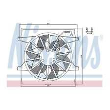 Fits VW Polo 6N2 1.9 D Genuine OE Quality Nissens Engine Cooling Radiator Fan