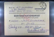 Camp Stalag IID Stargard 1940 POW Prisoner of War Kriegsgefangenenpost L34a