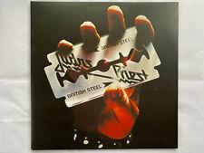 Judas Priest – British Steel ... 2010 CLEAR vinyl GFLP album (see desc. & pics)