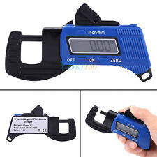 0-12mm Portable LCD Digital Thickness Gauge Meter Micrometer Tester Hot im