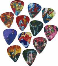 MARVEL Guitar Picks 12 Pack Heroes 1 OFFICIAL MERCHANDISE