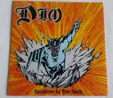 "DIO - RAINBOW IN THE DARK  7"" VINYL UK  DIO 2 PICTURE SLEEVE"