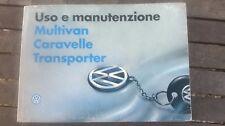Libretto istruzioni vw T4 Caravelle Multivan Transporter 1996-2003 in PDF