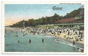 CLEVELAND OHIO Bathing Scene Euclid Beach