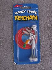 1989 Warner Bros Looney Tunes Buggs Bunny Keychain