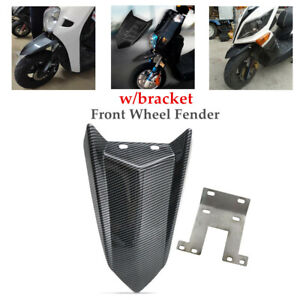 Motorcycle Refit Front Wheel Fender Short Cover Plate Mudguard Protective Part