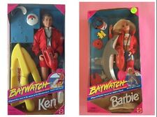 "Barbie + Ken "" BAYWATCH"" NRFB 1993"